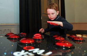 No Child Left Behind awards ceremony at Cheltenham Town Hall.