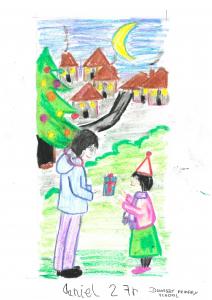 Daniel, Dunalley primary school